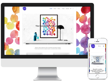 Indigo & Felix: e-commerce website design and branding