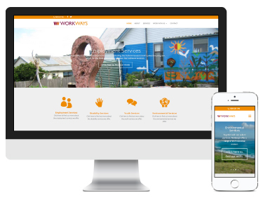 Workways Australia: website design