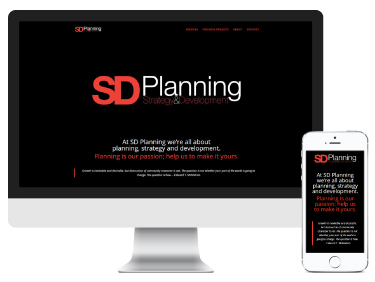SD Planning: branding and website design