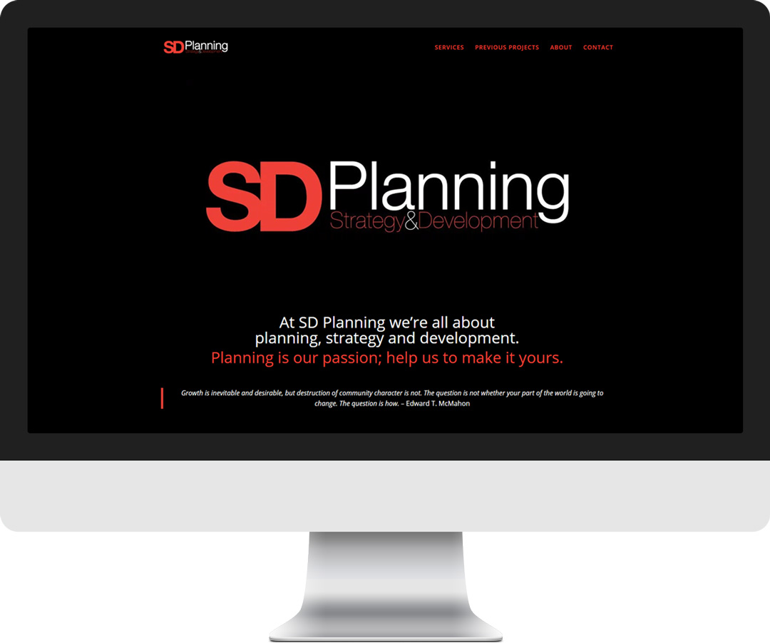 SD-Planning-website-design