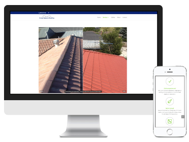 Craig Seignior Roofing: website design & development