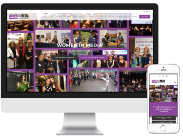 Women in Media Website Design & Development