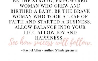 A Conversation with Rachel Allan