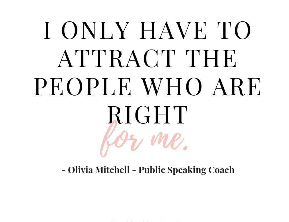 A Conversation with Olivia Mitchell, Public Speaking Coach