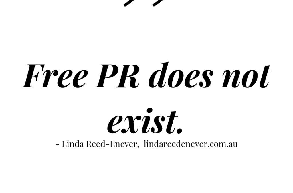 "A Conversation with Linda Reed-Enever – PR ""go to girl"""