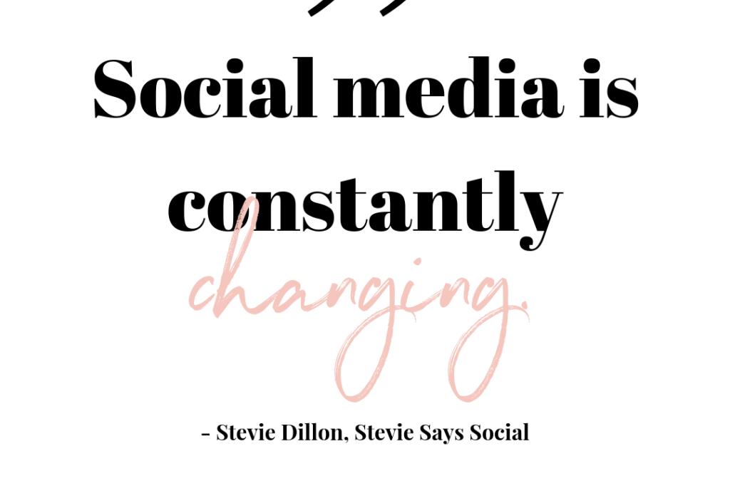 A Conversation with Stevie Dillon – Stevie Says Social