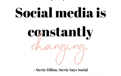 A Conversation with Stevie Dillon – Stevie Says Social