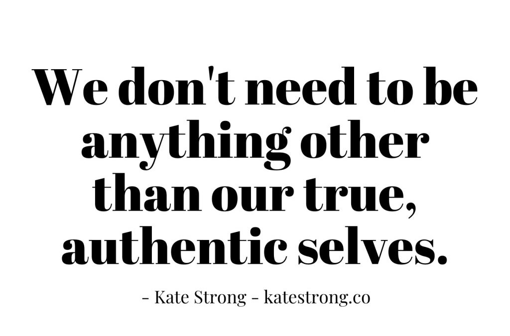 A Conversation with Kate Strong