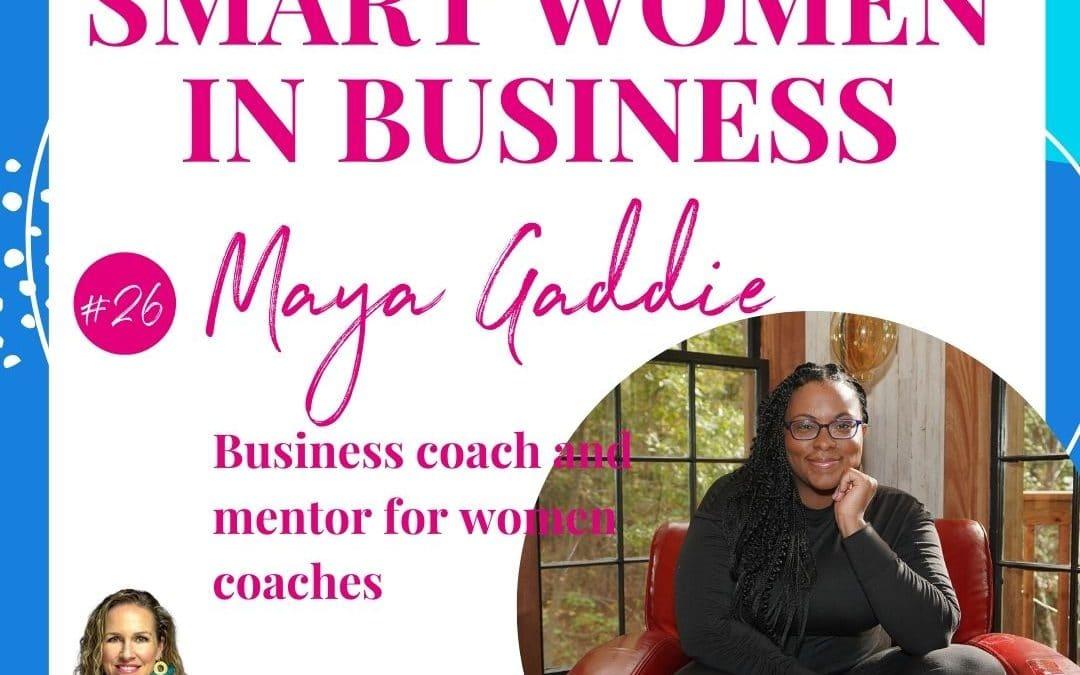 A Conversation with Maya Gaddie